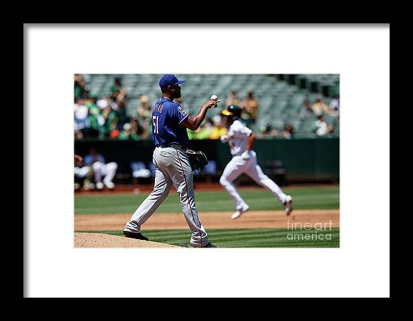 People Framed Print featuring the photograph Marcus Semien by Jason O. Watson