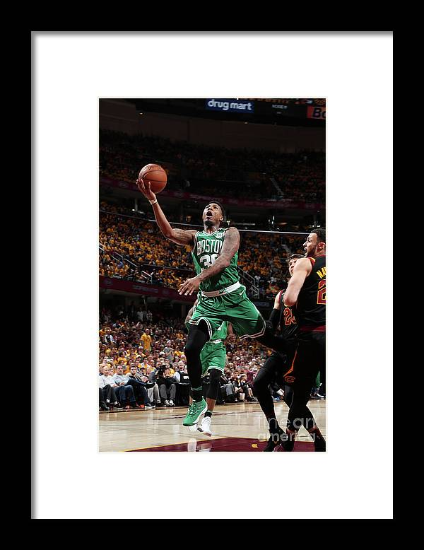 Playoffs Framed Print featuring the photograph Marcus Smart by Nathaniel S. Butler