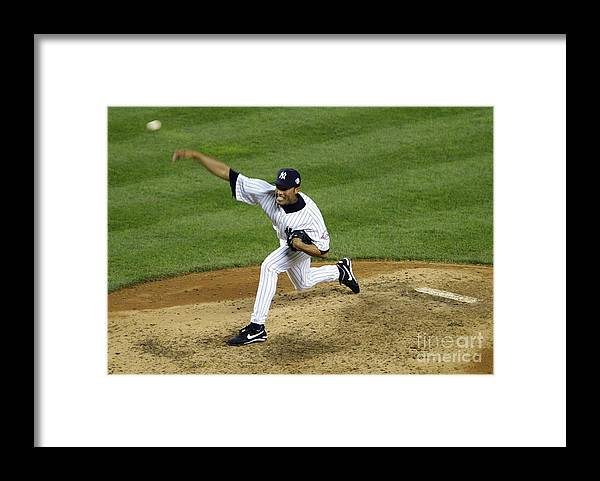 People Framed Print featuring the photograph Mariano Rivera by Doug Pensinger