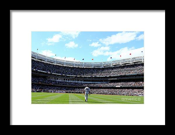 American League Baseball Framed Print featuring the photograph Mariano Rivera by Elsa