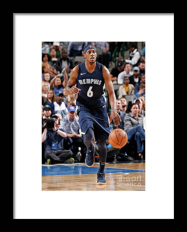 Nba Pro Basketball Framed Print featuring the photograph Mario Chalmers by Glenn James