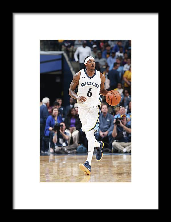 Nba Pro Basketball Framed Print featuring the photograph Mario Chalmers by Joe Murphy