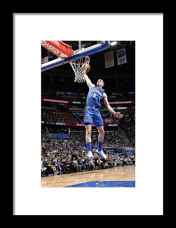 Nba Pro Basketball Framed Print featuring the photograph Mario Hezonja by Fernando Medina