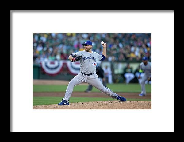 American League Baseball Framed Print featuring the photograph Mark Buehrle by Jason O. Watson