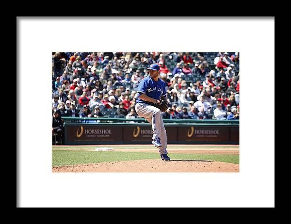 American League Baseball Framed Print featuring the photograph Mark Buehrle by John Grieshop