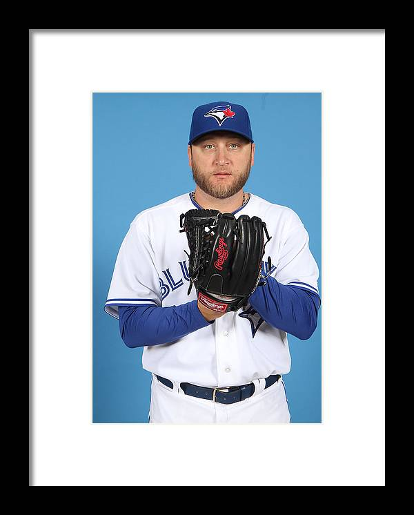 Media Day Framed Print featuring the photograph Mark Buehrle by Marc Serota