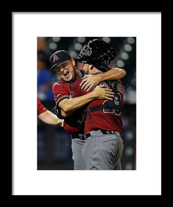 Three Quarter Length Framed Print featuring the photograph Mark Grace by Rich Schultz