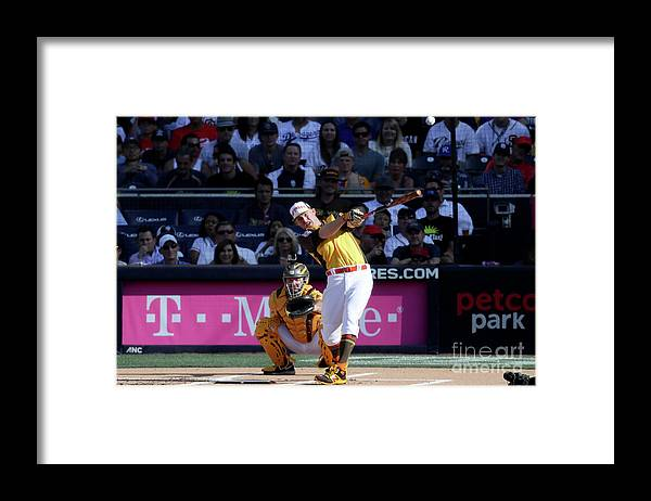 People Framed Print featuring the photograph Mark Trumbo by Sean M. Haffey