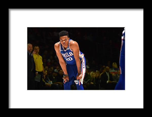 People Framed Print featuring the photograph Markelle Fultz by Jesse D. Garrabrant