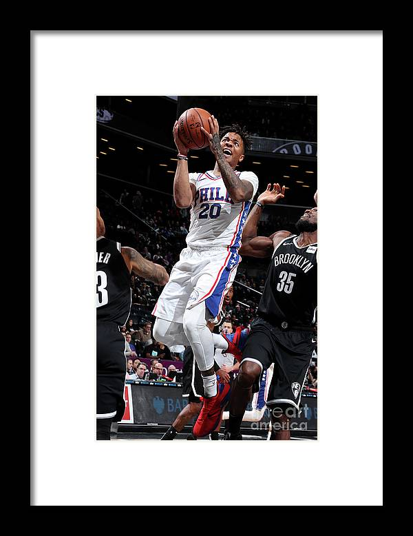Nba Pro Basketball Framed Print featuring the photograph Markelle Fultz by Nathaniel S. Butler
