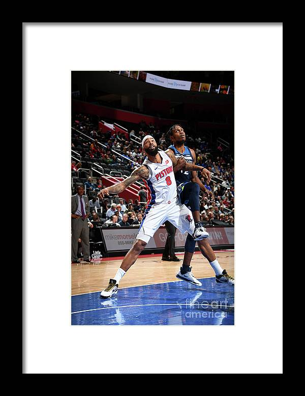 Nba Pro Basketball Framed Print featuring the photograph Markieff Morris by Chris Schwegler