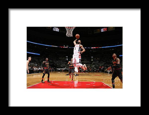 Playoffs Framed Print featuring the photograph Markieff Morris by Ned Dishman