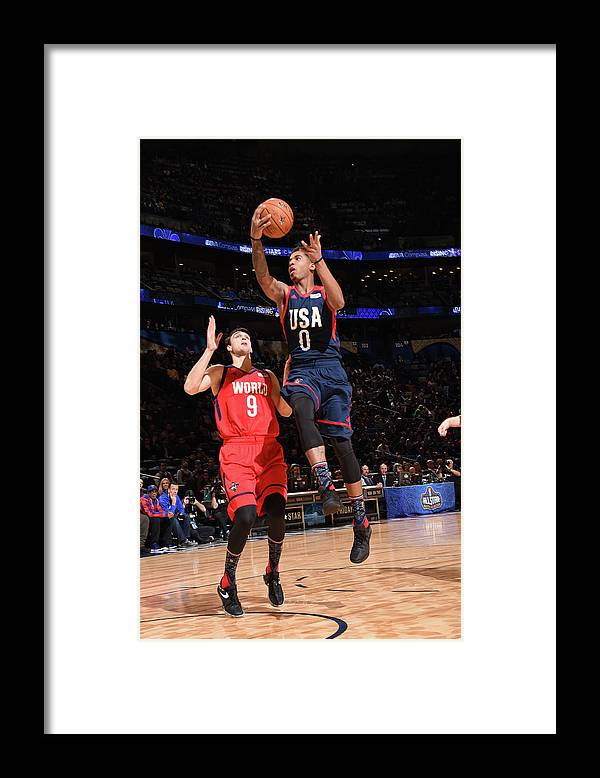 Event Framed Print featuring the photograph Marquese Chriss by Andrew D. Bernstein