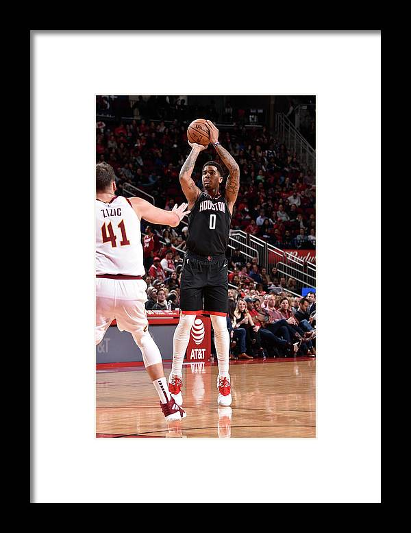 Nba Pro Basketball Framed Print featuring the photograph Marquese Chriss by Bill Baptist
