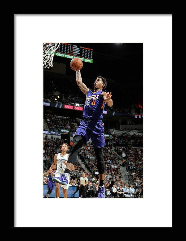 Nba Pro Basketball Framed Print featuring the photograph Marquese Chriss by Mark Sobhani