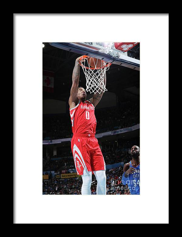 Nba Pro Basketball Framed Print featuring the photograph Marquese Chriss by Zach Beeker