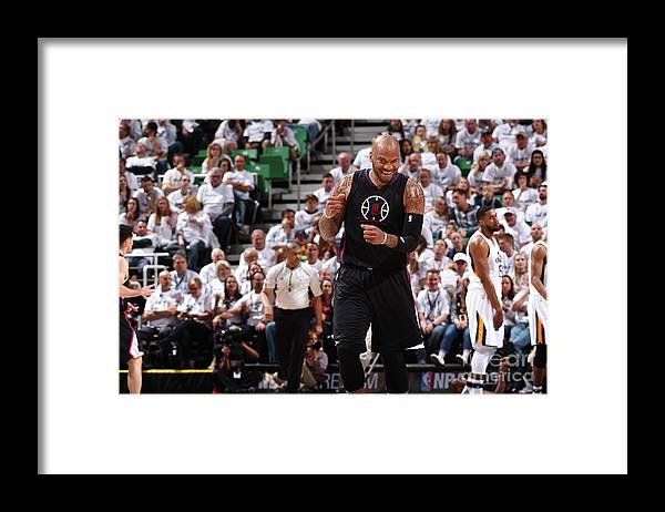 Playoffs Framed Print featuring the photograph Marreese Speights by Andrew D. Bernstein