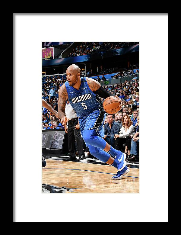 Nba Pro Basketball Framed Print featuring the photograph Marreese Speights by Fernando Medina