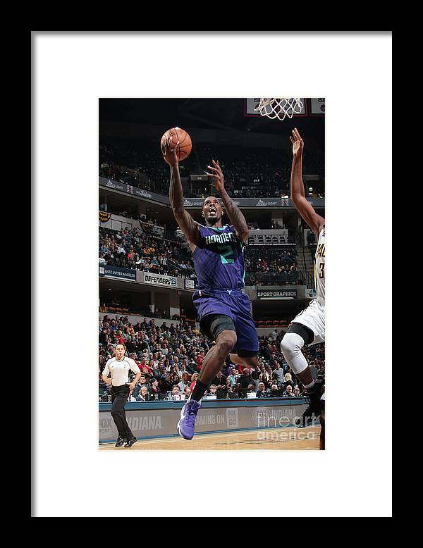 Nba Pro Basketball Framed Print featuring the photograph Marvin Williams by Ron Hoskins
