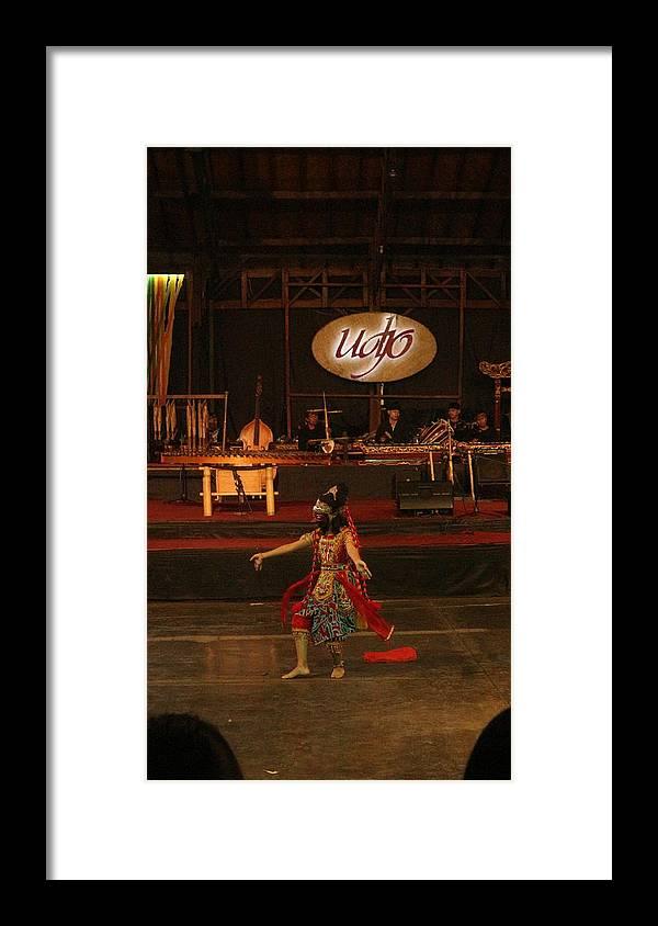 Dance Framed Print featuring the photograph Mask Dance by Lingga Tiara Setiadi