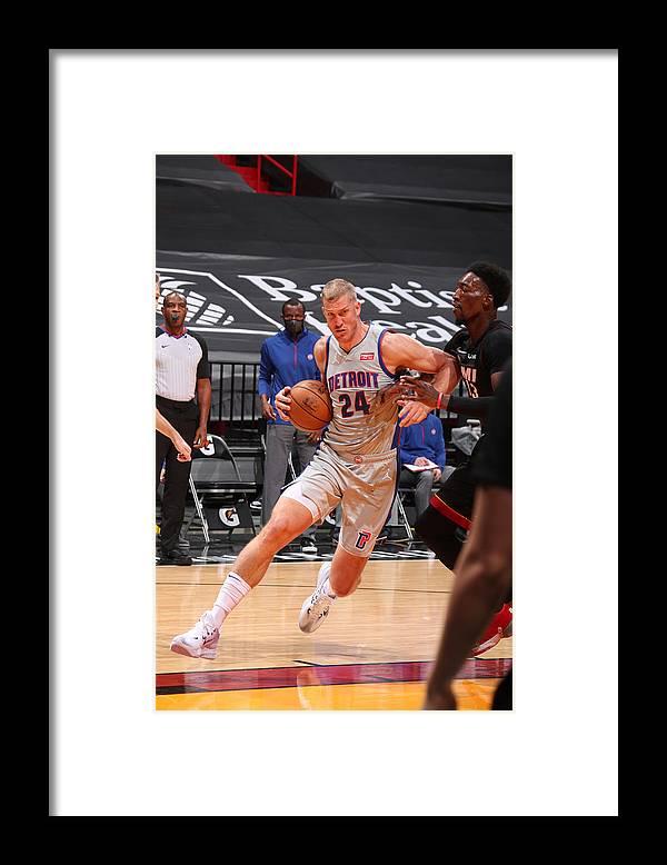 Nba Pro Basketball Framed Print featuring the photograph Mason Plumlee by Issac Baldizon