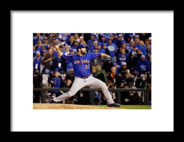 Matt Harvey Framed Print featuring the photograph Matt Harvey by Sean M. Haffey
