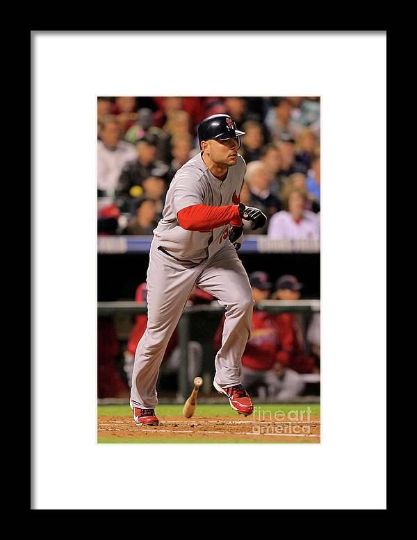 José Contreras Framed Print featuring the photograph Matt Holliday by Doug Pensinger