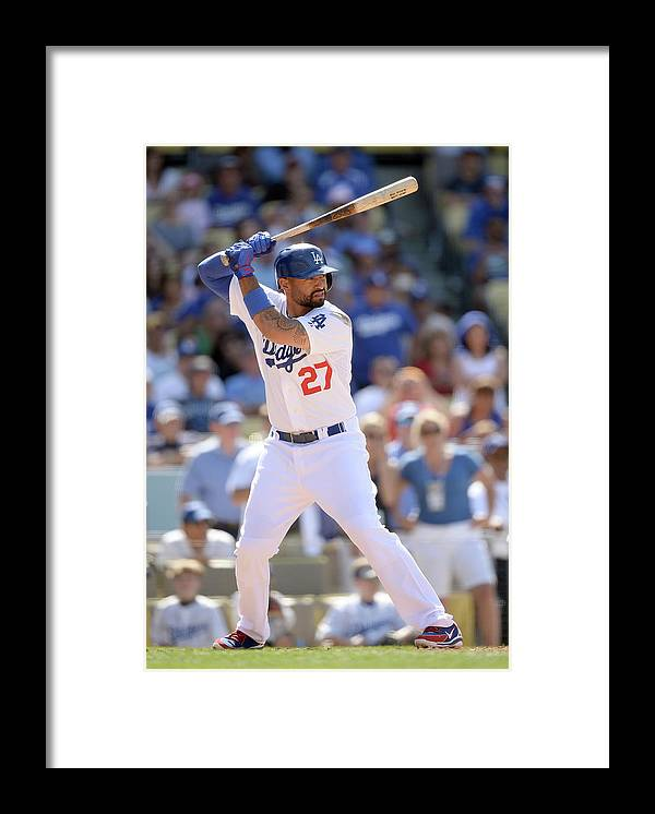 California Framed Print featuring the photograph Matt Kemp by Harry How