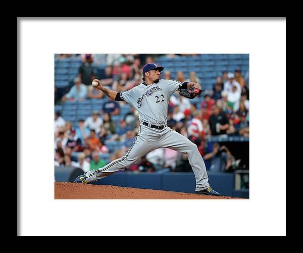 Atlanta Framed Print featuring the photograph Matt Turner by Kevin C. Cox
