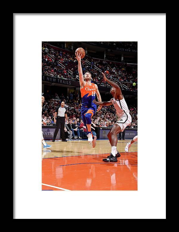 Nba Pro Basketball Framed Print featuring the photograph Matthew Dellavedova by David Liam Kyle
