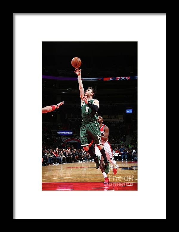 Nba Pro Basketball Framed Print featuring the photograph Matthew Dellavedova by Ned Dishman