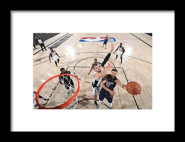 Playoffs Framed Print featuring the photograph Maxi Kleber by Joe Murphy