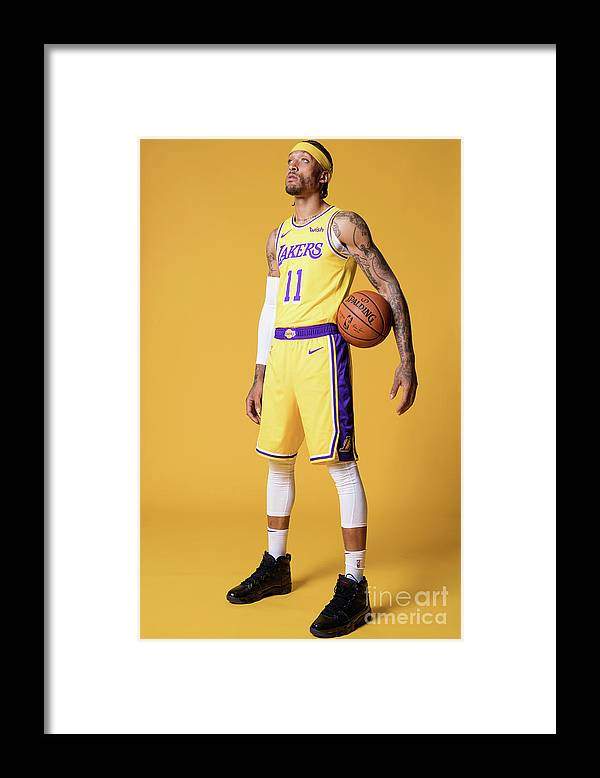 Media Day Framed Print featuring the photograph Michael Beasley by Atiba Jefferson