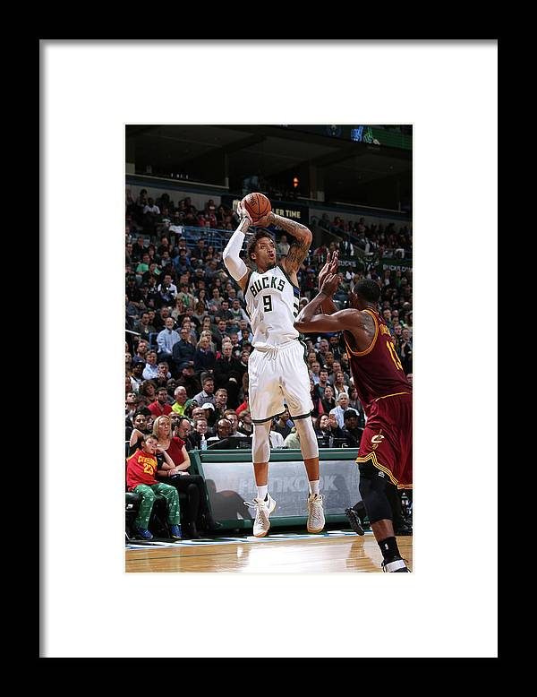 Michael Beasley Framed Print featuring the photograph Michael Beasley by Gary Dineen
