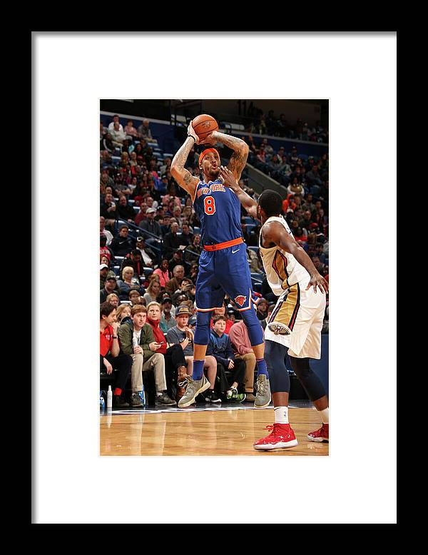 Smoothie King Center Framed Print featuring the photograph Michael Beasley by Layne Murdoch