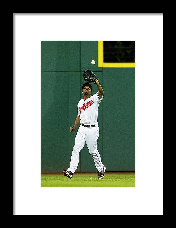 Michael Bourn Framed Print featuring the photograph Michael Bourn and Xander Bogaerts by Jason Miller