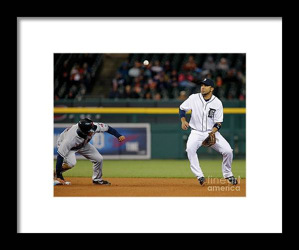 American League Baseball Framed Print featuring the photograph Michael Brantley by Duane Burleson