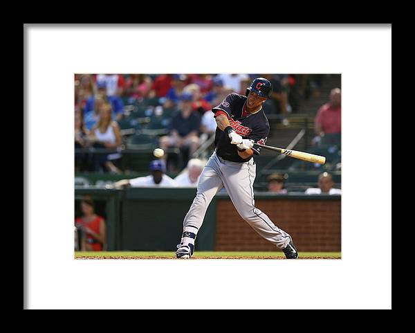 People Framed Print featuring the photograph Michael Brantley by Ronald Martinez