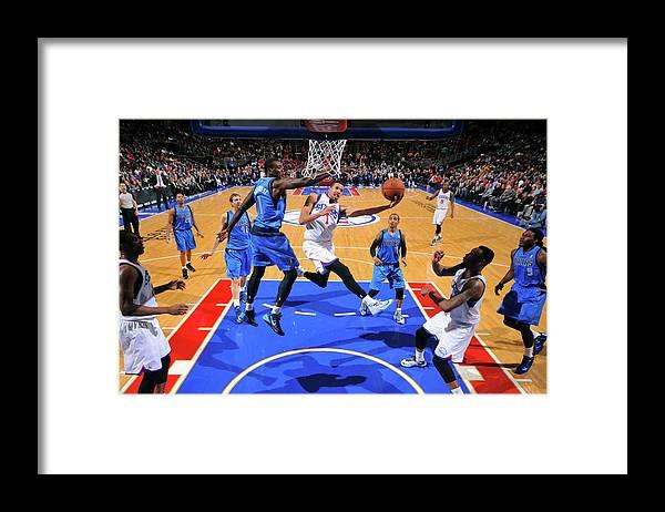 Nba Pro Basketball Framed Print featuring the photograph Michael Carter-williams by Jesse D. Garrabrant