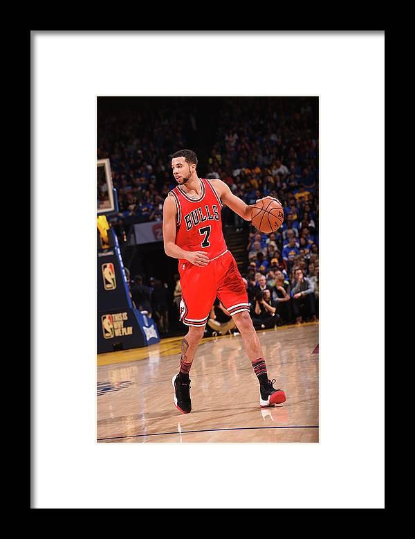 Nba Pro Basketball Framed Print featuring the photograph Michael Carter-williams by Noah Graham