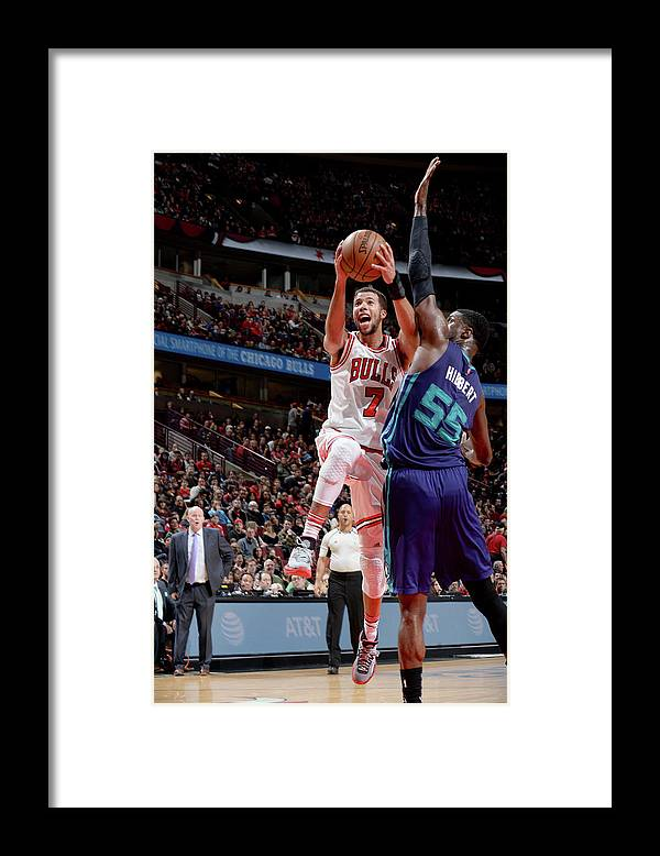 Nba Pro Basketball Framed Print featuring the photograph Michael Carter-williams by Randy Belice