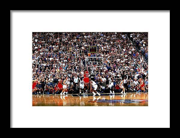 Chicago Bulls Framed Print featuring the photograph Michael Jordan by Fernando Medina