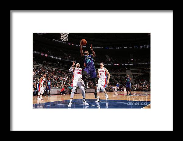 Nba Pro Basketball Framed Print featuring the photograph Michael Kidd-gilchrist by Brian Sevald