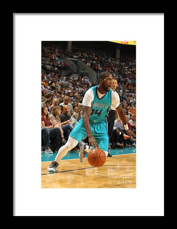 Sport Framed Print featuring the photograph Michael Kidd-gilchrist by Brock Williams-smith