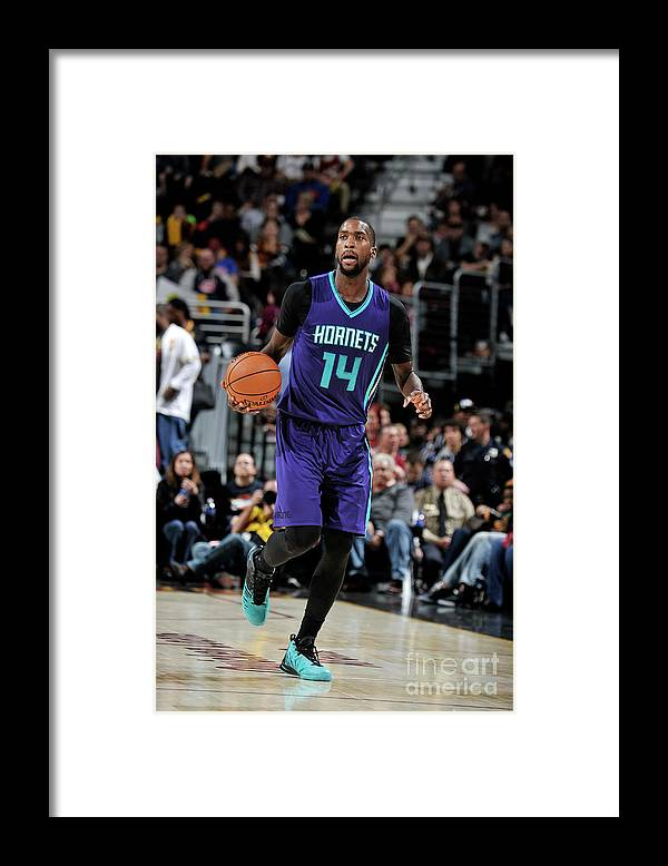 Nba Pro Basketball Framed Print featuring the photograph Michael Kidd-gilchrist by David Liam Kyle