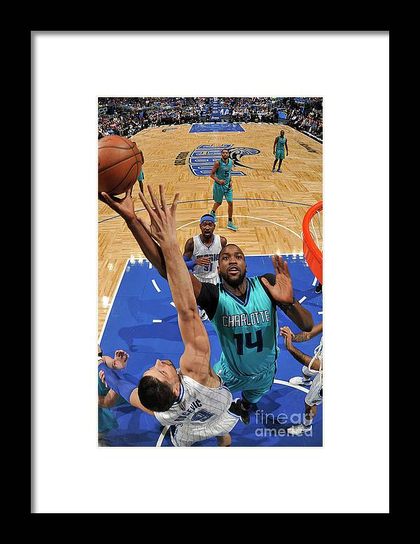 Nba Pro Basketball Framed Print featuring the photograph Michael Kidd-gilchrist by Fernando Medina