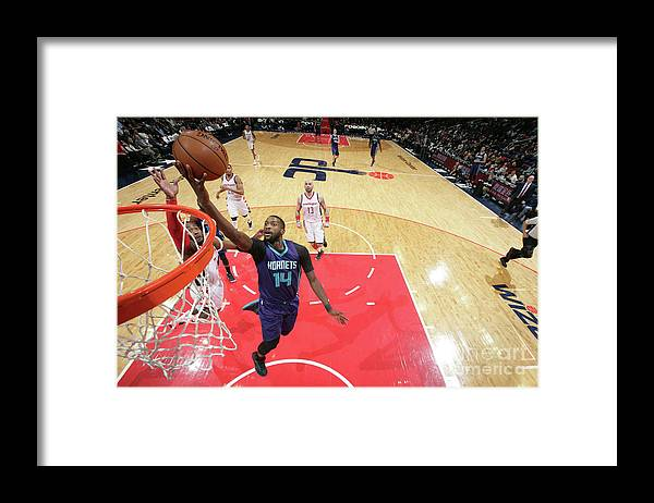 Nba Pro Basketball Framed Print featuring the photograph Michael Kidd-gilchrist by Ned Dishman