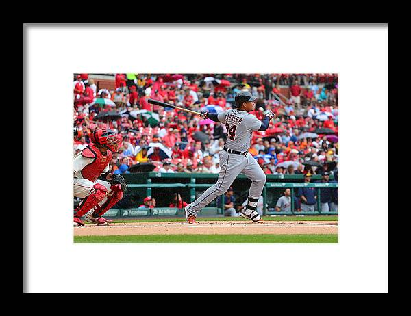People Framed Print featuring the photograph Miguel Cabrera by Dilip Vishwanat
