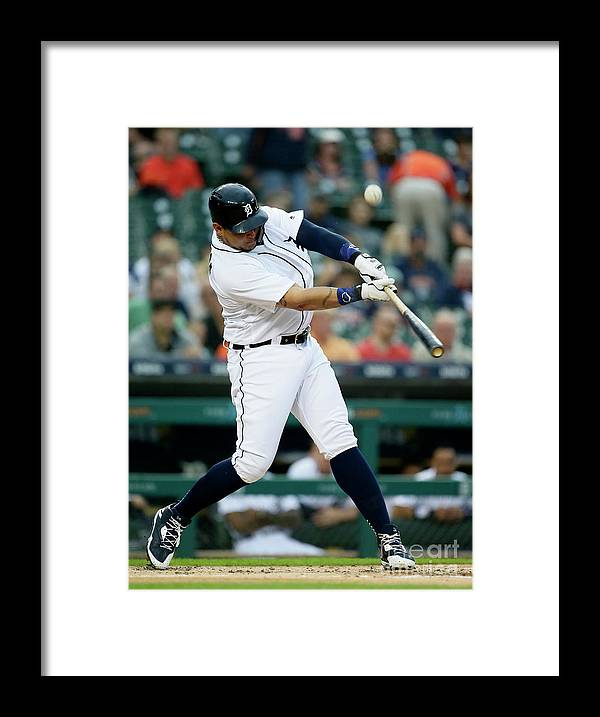 People Framed Print featuring the photograph Miguel Cabrera by Duane Burleson