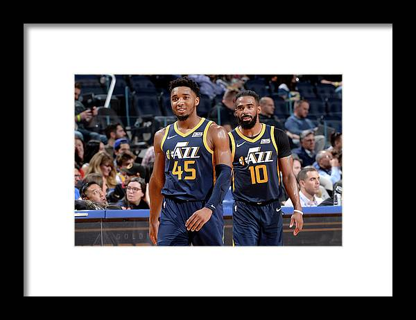 San Francisco Framed Print featuring the photograph Mike Conley by Noah Graham